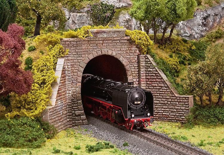 Faller tunnel portal 120559 gmodelscene for N scale tunnel portal dimensions