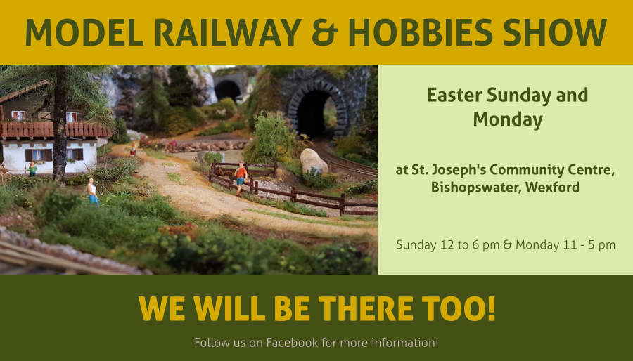 Model Railyway & Hobbies - Easter show!